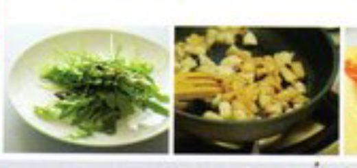 салат рукола с куриным филе и пармезаном
