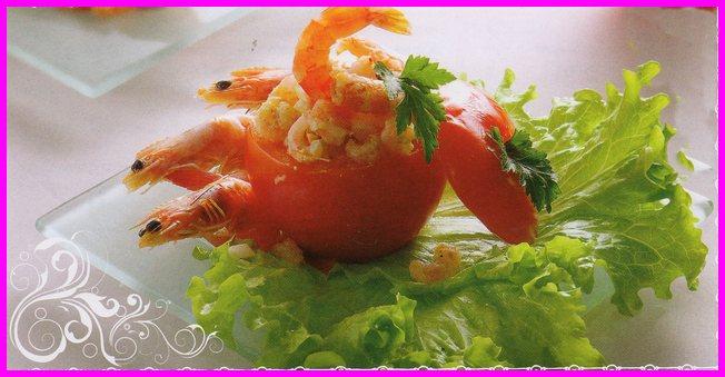 pomidory farshirovannye krevetkami i jaizom